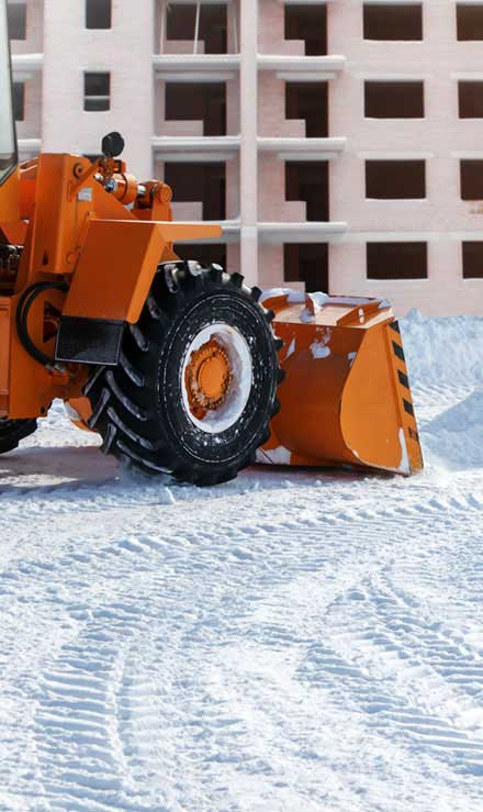 TTK Custom Services LLC Commercial Snow Removal